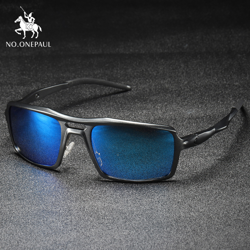 NO.ONEPAUL Lentes De Sol Hombre Fashion Brand Classic Unisex Retro Sunglasses Pilot Glare Polarized Lens Vintage Eyewear Glasses