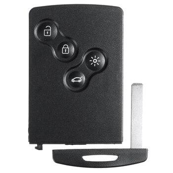 4 кнопки смарт-карты Автомобильный ключ 433 МГц PCF7952 чип удаленный ключ для Renault Megane 3 2009-2014