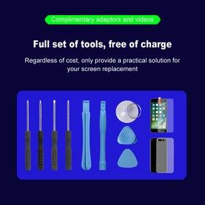 Image 5 - AAAA + + + pour iPhone 5S SE 6s 6S Plus 7 8 Plus écran LCD avec 3D force numériseur écran tactile ensemble complet affichage dassemblage avec cadeau