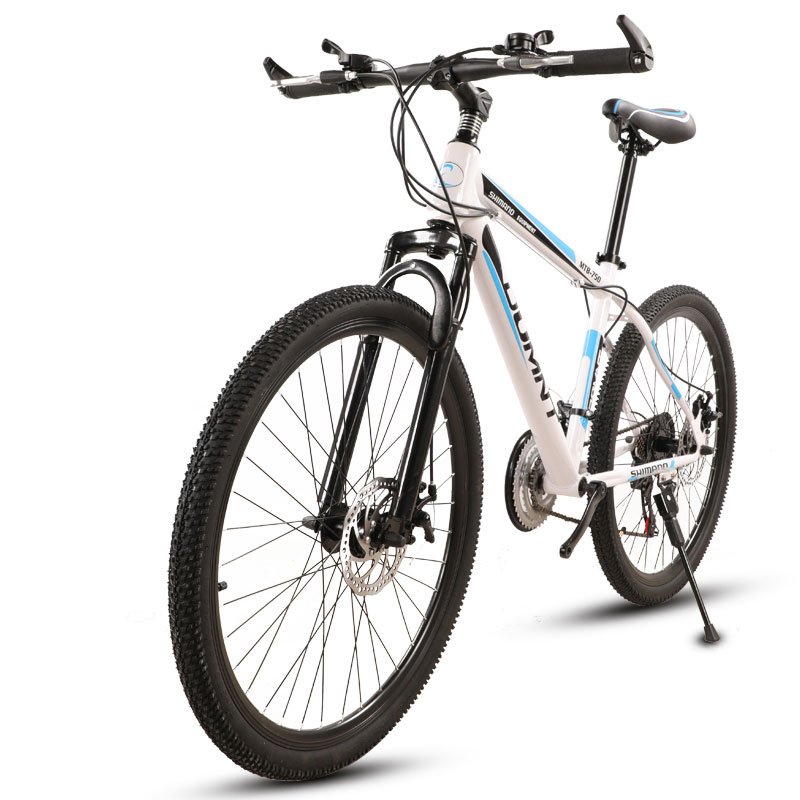 Mountain Bike 26 Inch 21 Speed Road Shock Absorption Double Disc Brakes Student Men And Women Bicycle