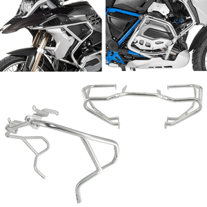 Image 1 - Motore del motociclo Superiore e Inferiore Autostrada Guard Crash Bar Paraurti Telaio di Protezione Per BMW R1200GS R 1200 GS R1200 LC 2013 2019