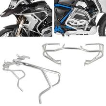 Motorrad Oberen & Niedrigeren Motor Autobahn Schutz Crash Bar Stoßstange Rahmen Schutz Für BMW R1200GS R 1200 GS R1200 LC 2013 2019