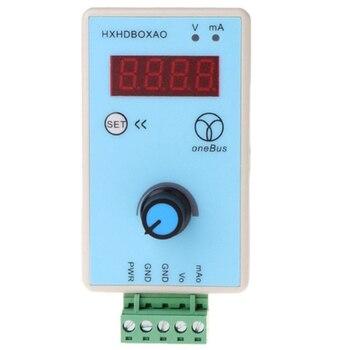 ハンドヘルド 0-10 v/2-10 v 0-20MA/4-20MA 信号発生器調整可能な電流電圧アナログシミュレータ信号源出力 24 v