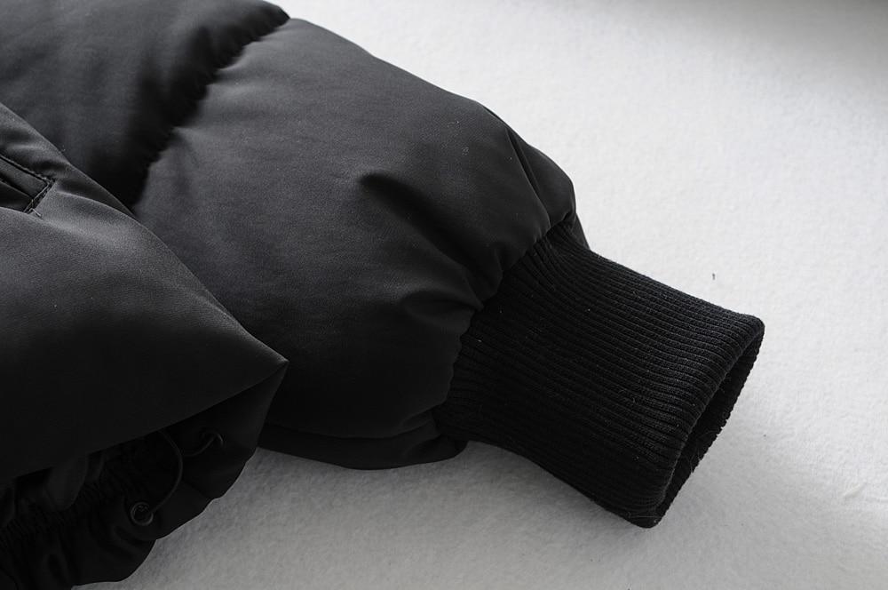 KONDALA Höst Vinter Za Kvinnor Jackor Tjockare Streetwear Överdimensionerade Parkas Långa Batwing Ärmfickor Kvinnor Kappor Mujer Toppar