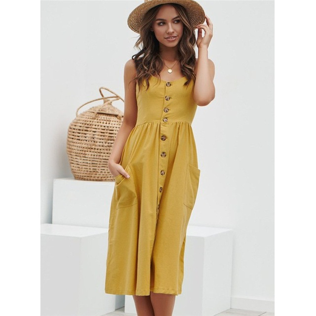 Summer Strap Print Floral Long Boho Bohemian Beach Dress 2018 Women Sundress Sexy Casual Loose Plus Size Robe Femme Maxi Dresses 3