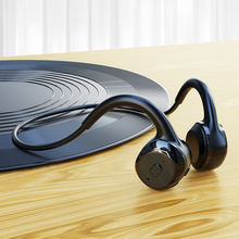 DOSII Wireless Sports Bluetooth Headphones Bone Conduction Headsets Open-Ear Stereo HiFi Sports Earphones Hands-Free with Mic