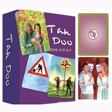 19 tipos oh cartão psicologia cartões lidar/persona/shenhua jogo de tabuleiro engraçado jogos de cartas para festa/família alta qualidade