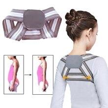Adjustable Posture Corrector Shoulder Back Brace Belt Clavicle Spine Lumbar