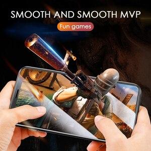 Image 5 - 9999D 3A verre trempé à couverture complète incurvée pour iphone 11 Pro X XR XS Max protecteur décran verre de protection sur iPhone 11 7 8 Film