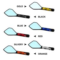 8Mm/10Mm Riangle Mirror Style Cnc Motorcycle Rearview Side Mirrors Street Sports Bike Chopper Ruiser|Side Mirrors & Accessories|Automobiles & Motorcycles -