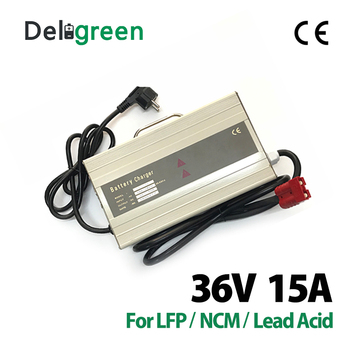 36V 15A  540W Safety CE ROSH Approved Lead acid battery Charger for 12S 43.8V 15 Ah Battery Charging With Led indication