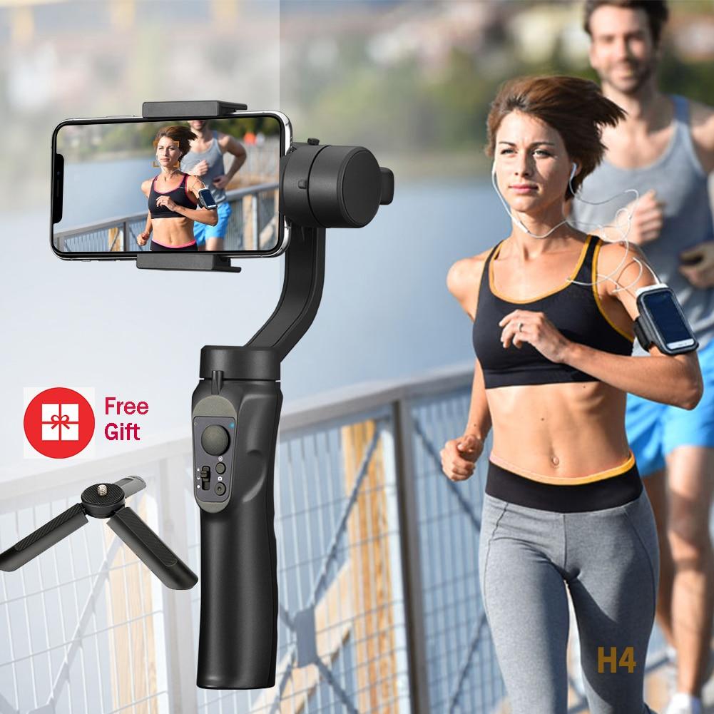 Smooth 3-Axis Handheld Smartphone Gimbal Stabilizer For IPhone Handheld Gimbal Stabilizer For Huawei Xiaomi Samsung ActionCamera