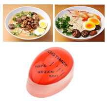 Minuterie de cuisine, minuteur parfait pour la couleur des œufs, changement de température en résine, Gadgets de cuisine, accessoires ménagers