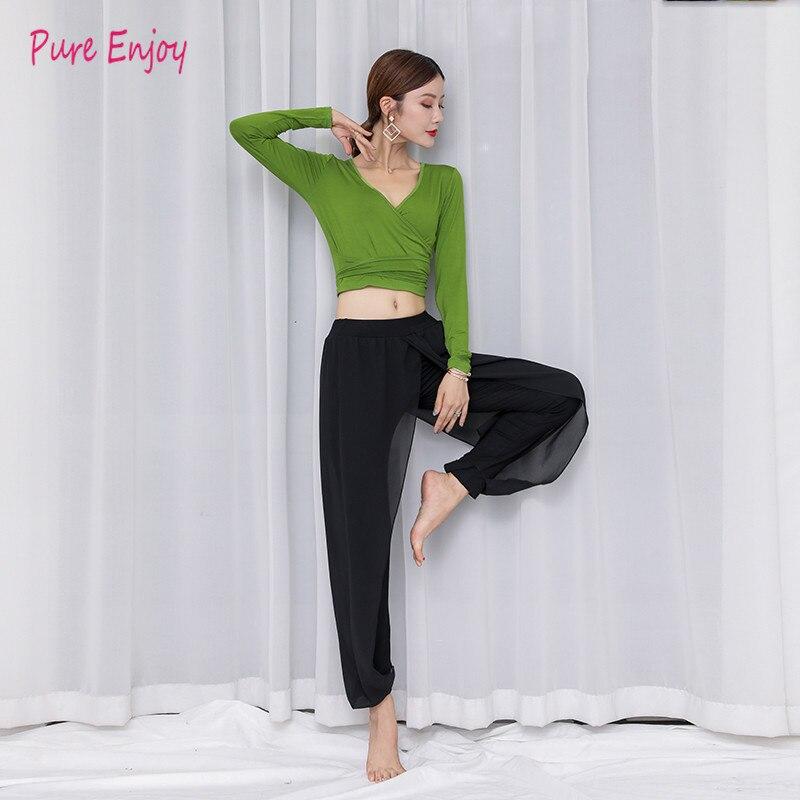 2pieces Suit Belly Dance Costumes Oriental Dance Costumes Bollywood Dance Costumes Adult Belly Dance Costume Set Top + Pants
