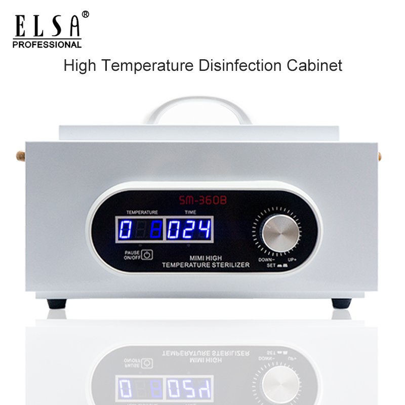 300W Professional High Temperature Sterilizer Box Nail Art Salon Portable Smart Sterilizing Manicure Tool Dry Heat Sterilizer