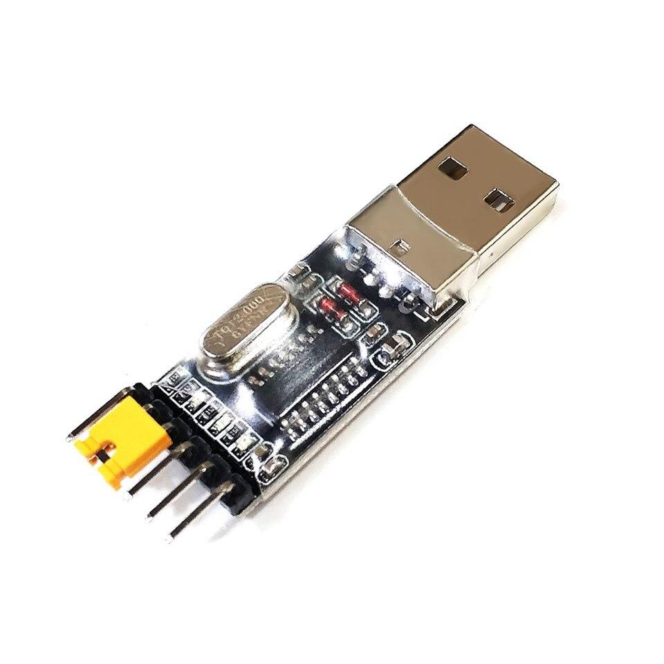 1 stücke CH340 modul USB zu TTL CH340G upgrade download eine kleine draht pinsel platte STC mikrocontroller-board USB zu serielle