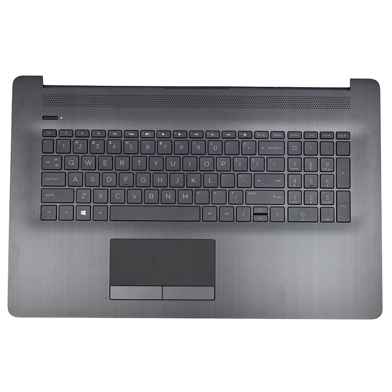 NEW Original Laptop Palmrest Upper Case For HP 17-CA 17-BY Palmrest Shell With Touchpad And Keyboard Grey 6070B1308103