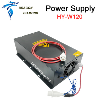 HY-W120 120W Co2 Laser Power Supply Suitable For 100 To 120W CO2 Laser Tube For Co2 Laser Engraving And Cutting Machine hy t100 good quality high power co2 laser tube power supply laser machine for engraving and cutting