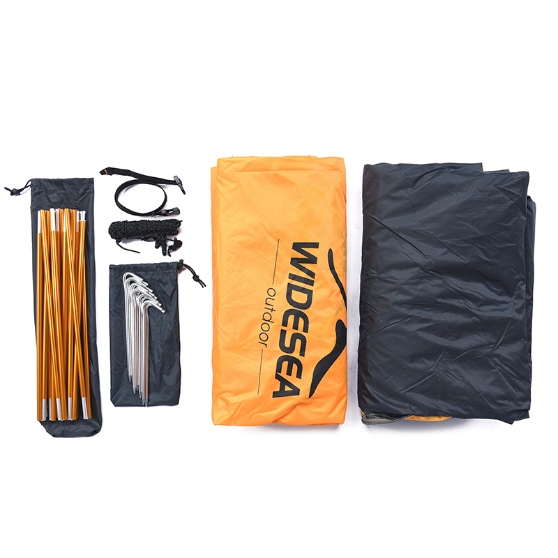 Widesea Camping Tourist Tent 2 Person Winter Tent Double Layer  Tent Travel Waterproof Backpacking Trekking Gazebo Outdoor