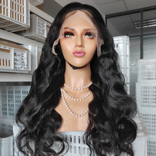 Hair Wigs Lace-Frontal Body-Wave Pre-Plucked Black Women Brazilian 150%Density 360