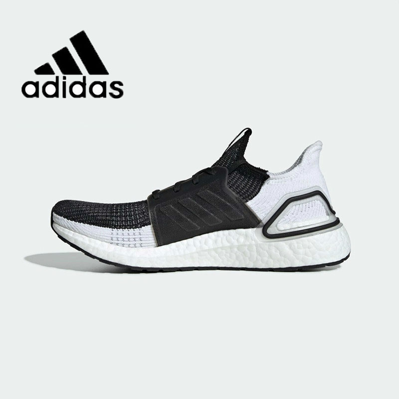 Original Authentic Adidas UltraBoost 19 UB19 Unisex Sneakers Running Shoe Breathable New Leisure Lace-Up 2019 Spring B37704
