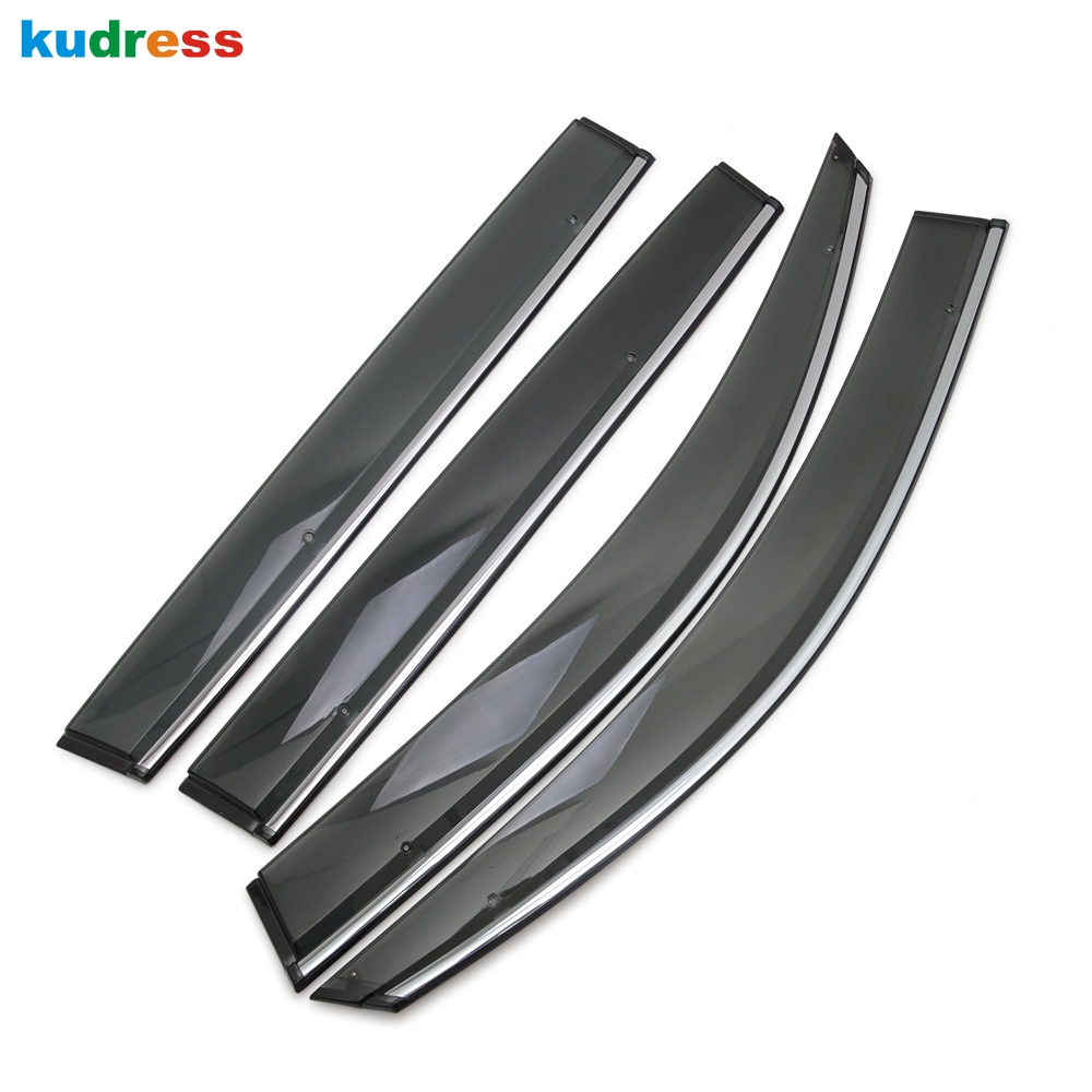 For Volkswagen Tiguan MK2 2017 2018 2019 ABS Plastic Car Sun Visor Window Cover Rear Side Shield Car Accessories Styling