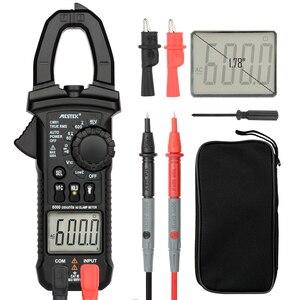 MESTEK цифровой клещи мультиметр токовые клещи AC/DC тестер сопротивления напряжения измерительные инструменты alicate amperimetro