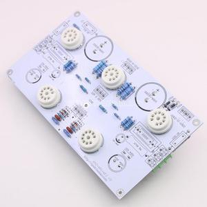 Image 3 - 6N2/6N1 6P1 3W * 2 stereo güç amplifikatörü bitmiş kurulu içerir elektronik tüp amplifikatör kurulu ile 6E2 seviye göstergesi
