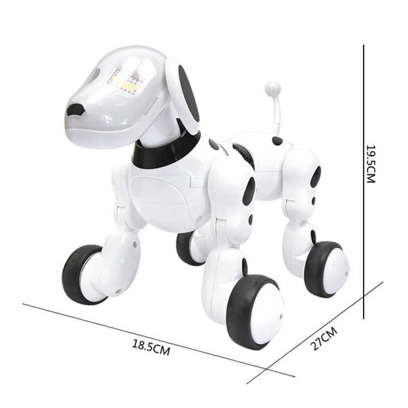 אינטליגנטי RC רובוט כלב צעצוע חכם אלקטרוני חיות מחמד כלב ילדים צעצוע חמוד חיות RC אינטליגנטי רובוט מתנת ילדי מתנת יום הולדת