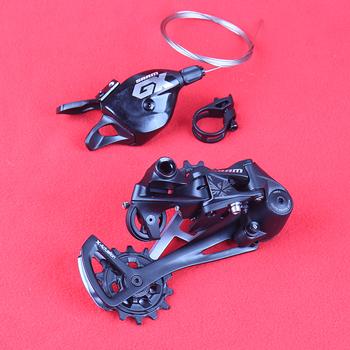 SRAM GX EAGLE 1X12S 12 prędkości rower mtb Mountain Bike zestaw grupowy dźwignia zmiany biegów spust prawa strona przerzutka tylna czarny tanie i dobre opinie Groupset 12 Speed Przerzutki Stop
