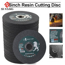 Disco de corte de resina de 125mm 5 polegadas cortar rodas flap lixar discos de moagem roda moedor de ângulo para ferro de metal 2-50 pces