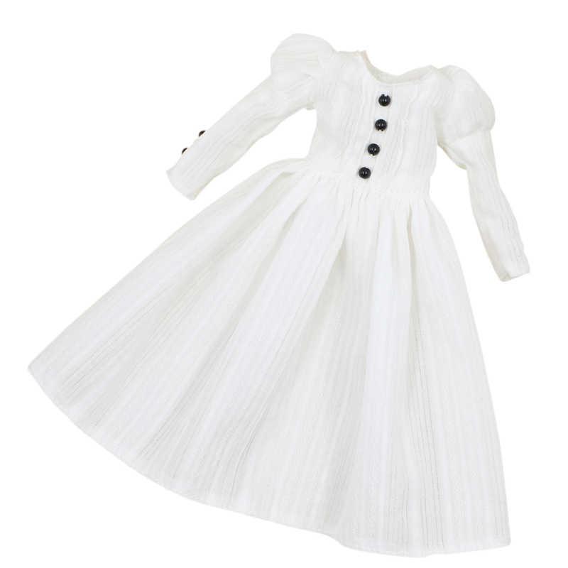 Blyth кукла ледяной licca Тело Игрушка белое платье, только платье без куклы без обуви
