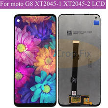 """6.4"""" For Motorola Moto G8 LCD XT2045-1 lcd  Display Touch Screen Digiziter Assembly For Moto G8 lcd"""