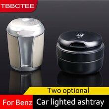 TBBCTEE Portable Auto Car Truck LED Cigarette Smoke car Ashtray Blue LED Light Smokeless Ashtray Cigarette Holder