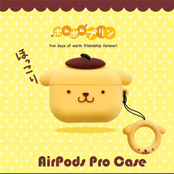 For Airpods Case,3D Cartoon Cute Pudding Dog Case For Airpods 1/2 Case Soft Silicone Earphone Cover For Airpods Pro Case 3d minions earphone case for airpods pro case cute soft silicone wireless for airpods pro case cover cartoon protective cover