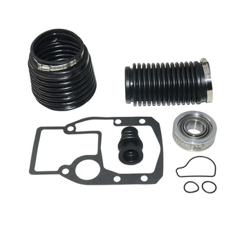 Replacement U-Joint Practical Durable Black Transom Gimbal Bearing With Gasket Bellows Repair Kit Clamp For OMC 1986-1993 911826