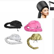 Suszarka do włosów korek oleju Salon fryzjerski kapelusz Bonnet czapki załącznik pielęgnacja włosów Perm kask parowiec do włosów