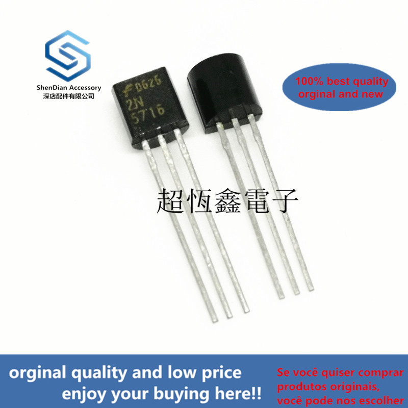 2pcs 100% Orginal New 2N5716 5716 N-channel JEFT Field Effect Real Photo