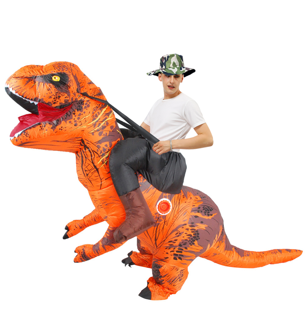 Halloween T-REX Dinosaur Inflatable Costume Party Cosplay Fancy Anime Adult//Kid