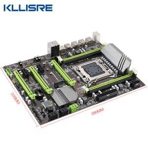Image 3 - Kllisre X79 motherboard set with Xeon E5 2689 4x8GB=32GB 1600MHz DDR3 ECC REG memory ATX USB3.0 SATA3 PCI E NVME M.2 SSD
