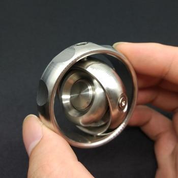 Mechforce EDC Metal Gyroscope Fingertip Gyro Hand Spinner Decompression Adult Toy Anti Stress Rotation Balance Fidget Spinner