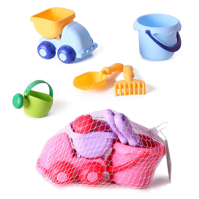 Beach Toys For Kids Baby Beach Game Toy Children Sandbox Set Kit Summer Toys For Beach Play Sand Water Play Cart Kids Gifts