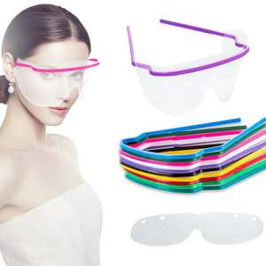 Eye-Protection-Accessories Eyeware Beauty Health Anti-Spray Clear Safety Frameless Disposable
