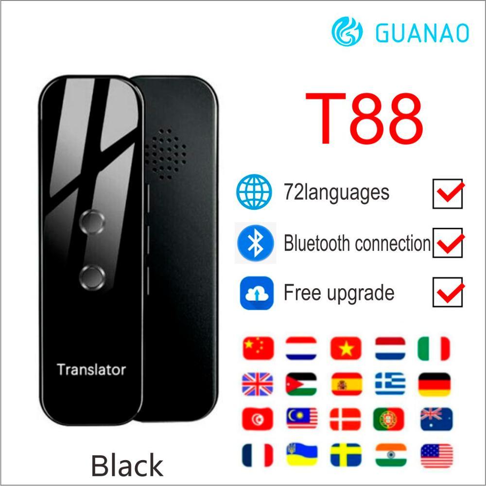 Traducteur vocal intelligent T8 Portable deux voies en temps réel 40 + traduction multilingue pour apprendre à voyager 1