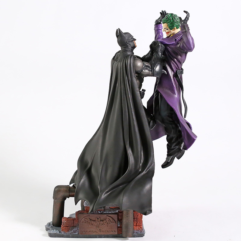 DC Comics Series Batman VS Joker PVC Figure Statue New Loose 30cm