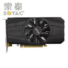 ZOTAC-tarjeta gráfica GTX 1050Ti 4GD5, tarjeta de vídeo de 128bit GDDR5 para NVIDIA GeForce GTX serie 10 GTX1050Ti, 4GB de tarjetas HDMI DVI usadas