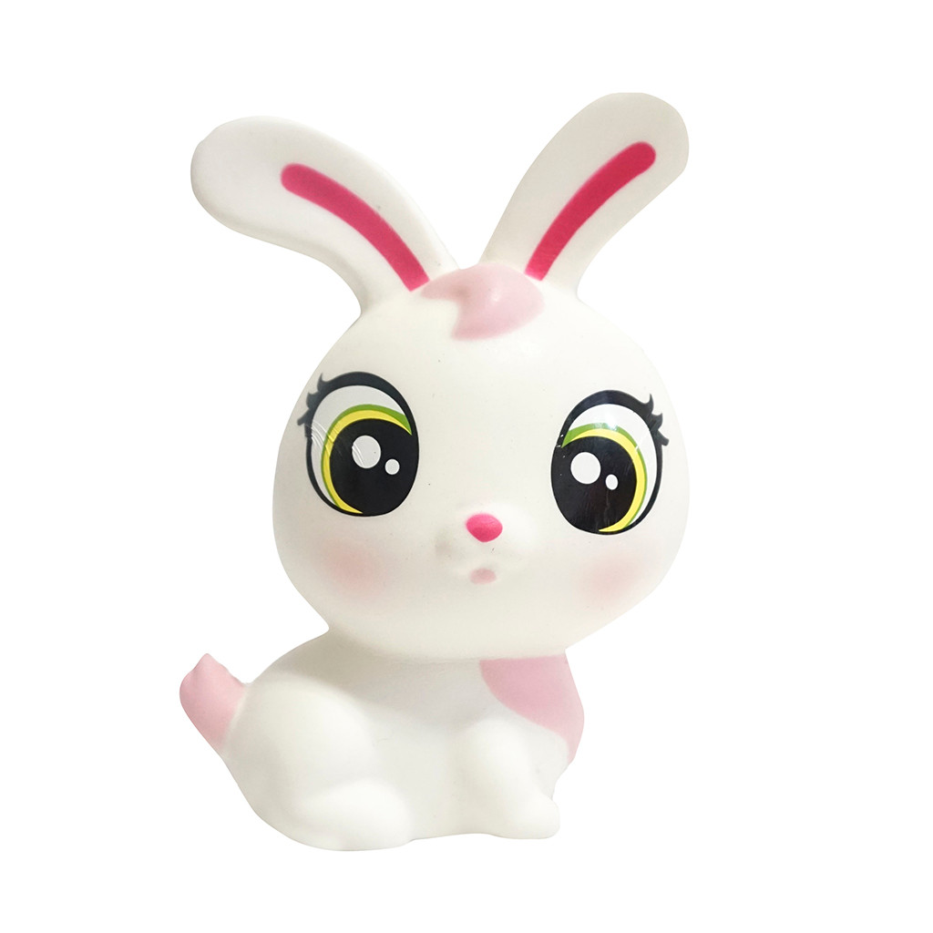 Cartoon Rabbit Kawaii Squishy Slow Rising Soft Squeeze Toy Scented Relieve Stress Funny Kids Toys Xmas Gift