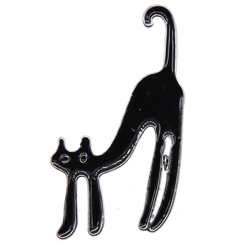 Ngón Tay Giữa Cát Mèo Ngộ Nghĩnh Men Chân Cứng Men Lưng Chân Phù Hiệu Trâm Cài Mèo Chân Ba Lô Nón Phụ Kiện