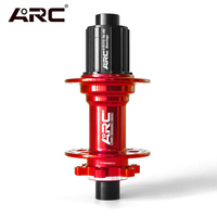 ARC Bike Hubs Front Rear MTB Bicycle Disc Hub 32H 8S 9S 10S 11S For Shimano Grounpset QR SKEWER 10 135MM THRU 12 142MM Hub Parts