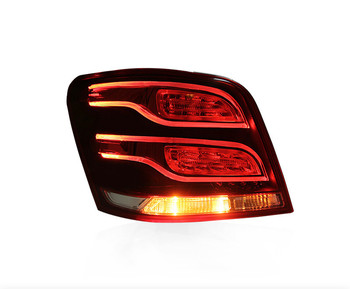 Osmrk Car styling for Mercedes-Benz W204 GLK300 GLK350 GLK260 07-17 tail light rear lamp, brake light, reversing signal fog lamp